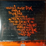 The Prodigy - Invaders Must Die (vinyl back cover)